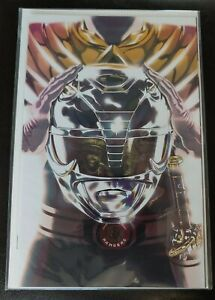 BOOM! MIGHTY MORPHIN POWER RANGERS #5 ARMORED BLACK RANGER Variant SDCC