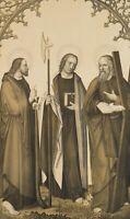 STRIXNER; MECKENEM, Apostel Matthias, Jakob und Andreas, 1824, Lithographie