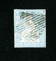 Switzerland Stamps # 26 XF Nice Stamp Used Scott Value $200.00