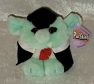 """Puffkins 1994 Swibco 5"""" Halloween Limited Edition """"Count"""" (Dracula) with Tags"""
