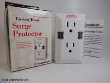 RADIOSHACK FOREIGN TRAVEL 2-OUTLET SURGE PROTECTOR 273-1440