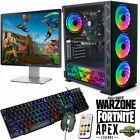 Fast Gaming Pc Computer Bundle Intel Quad Core I5 16gb 1tb Win 10 2gb Gt730
