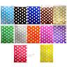 "50 Color & White POLKA DOT Paper Sweet Bags Wedding 5"" X 7"" Pick 'n' Mix Bag"
