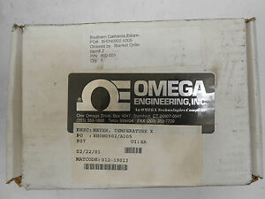 OMEGA ENGINEERING HH-22 THERMOMETER TYPE K/J DUAL INPUT