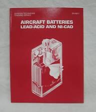 Aircraft Book - Aircraft Batteries Lead-Acid and Ni-cad - Order # EA-AB-1