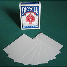 Carte Bicycle Magic gaff card doppio dorso Bianco/Bianco US2237