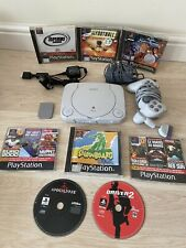 Sony Playstation One PS1 Mini Console - Fully Tested - with Games & Memory Card