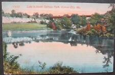 Lake In North Terrace Park Kansas City MO 1914 Acmegraph Company