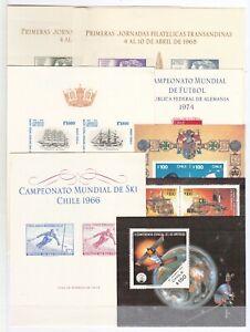10637/ CHILE – 1968 / 1993 MINT / UNUSED BLOCKS SELECTION – CV 125 $