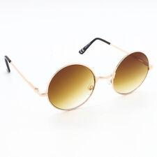 Round Lens Tea Shade Lennon Style Ladies Mens Sunglasses Bahoo Vintage 1960's