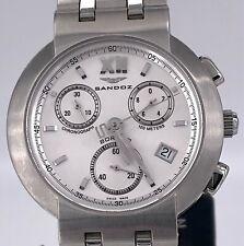 [-70%] PvP 390€ SANDOZ Borned 71505 watch 251.272 chronograph 38 mm