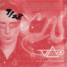 Steve Vai 2007 Sound Theories Concert Tour Backstage Pass! Authentic Original