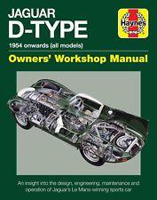 Jaguar Typ-D Owners 'Workshop Manual H6078
