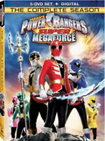 Power Rangers Super Megaforce The Complete Series Season + Digital New DVD