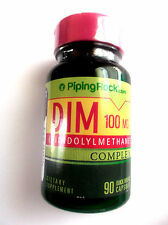 DIM 100Mg Complex With Broccoli Kale Extract 75Mg 90 Pills Capsules