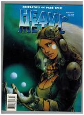 Heavy Metal The Illustrated Fantasy Magazine March 1997 Frezzato Cover