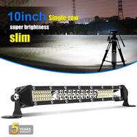 "10"" 100W barre de led light bar Offroad Phare de travail 4x4 Singal Rampe 10-30V"