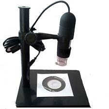 5.0Mp 10-220X 8 LED USB Digital Microscope Endoscope Otoscope Camera with Stand