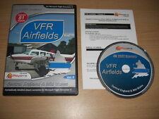 VFR AIRFIELDS Vol 2 Central England & Mid Wales Pc PS FSX Add-On Flight Sim X