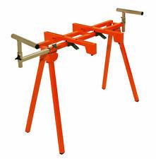 New Portamate Folding Miter Saw Stand Chop Saw Dual Purpose SawHorse 300 Lbs