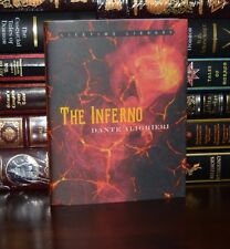 The Inferno by Dante Alighieri Illustrated New Deluxe Hardcover Classics