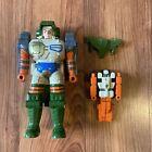 Vintage Transformers 1989 G1 Pretenders Crossblades Figure Shell Robot Wings Lot