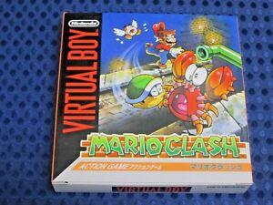 ! 100% NEW ! Nintendo 3D VB Virtual Boy Mario Clash Crash VIRTUALBOY JAPAN VR FS