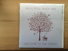 New Baby Girl Card - Five Dollar Shake Cards
