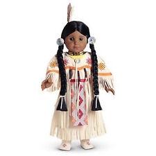 NIB  American Girl KAYA 's white DANCE DRESS OF TODAY Set 1st Edition Pow Wow!!!