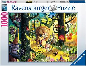Jigsaw Puzzle - LIONS & TIGERS & BEARS OH MY - 1000 Pieces