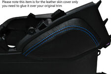 BLUE STITCH 1X LEATHER KNEE PADS SKIN COVERS FITS HONDA CIVIC SE SE-T EX 2012+