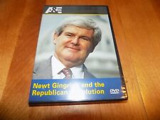 NEWT GINGRICH AND THE REPUBLICAN REVOLUTION 1994 GOP Congress A&E DVD SEALED NEW