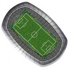 8 X FOOTBALL STADIUM PITCH PAPER PLATES Euro Football Birthday Party 26200