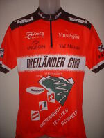"Dreilander Giro Cycling Shirt Jersey Top Adult Large 42-44"" Cycle Loffler Tirol"