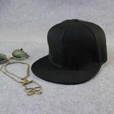 Men Flexfit Classic Snapback Snap Back Baseball Blank Plain Hat Hip Hop Cap
