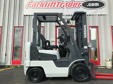 Nissan Mapl01a15jv 3000lb Pneumatic Tire Forklift On Gas