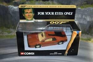 Corgi - TY04701 - Lotus Esprit Turbo - James Bond - For Your Eyes Only - Boxed