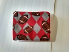 New listing Red Football Baby Blanket