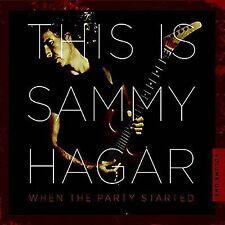 SAMMY HAGAR WHEN THE PARTY STARTED VOLUME 1 DIGIPAK CD NEW