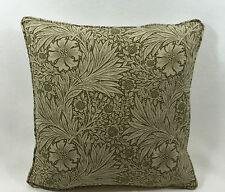 William Morris Marigold Olive/Lin & Ivoire 40.6cmx40.6cm Superbe & Offerte Prix