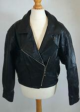 Satin Zip Biker Jackets for Women