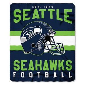 "Seattle Seahawks  50"" x 60"" Singular Fleece Throw Blanket by Northwest"