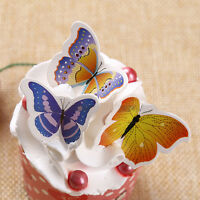 50X Farfalle Torta nuziale compleanno Cupcake Cake Topper L^ uh