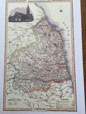 Antique Original County Map Antique Wall Maps