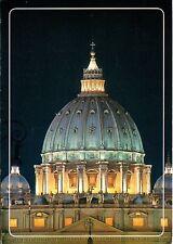Alte Postkarte - Roma - Basilica di S. Pietro - La cupola