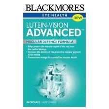 Blackmores Lutein-Vision 60 Caps Protect Eye Macular Health Good Eyesight