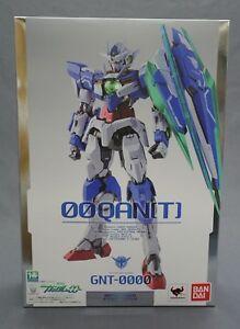 Metal Build Gundam Mobile Suit Gundam GNT-0000 00 Qan[T] Bandai Japan NEW