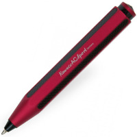 Kaweco AC Sport Ballpoint Pen - Carbon Red - KWABAC-RD - New In Box