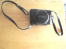 VINTAGE YASHICA EZ-MATIC 35 MM CAMERIA LEATHER CASE AND STRAP