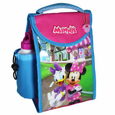 "DISNEY TV carattere ""BACK TO SCHOOL"" pranzo Cool Bag & Bottiglia-Minnie Mouse"